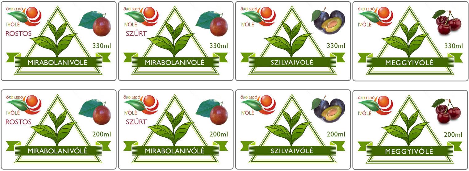 100%-os Gyümölcs Rostos Ivólevek | Meggyivólé |  Mirabolanivólé | Szilvaivólé | Birsivólé | Őszibarackivólé
